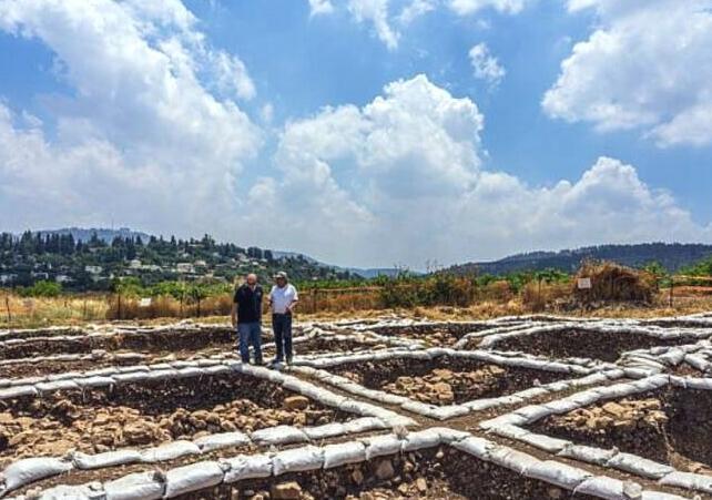 以色列耶路撒冷附近发现9000年前大都市